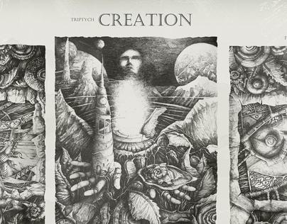 """Триптих """"Creation"""""""