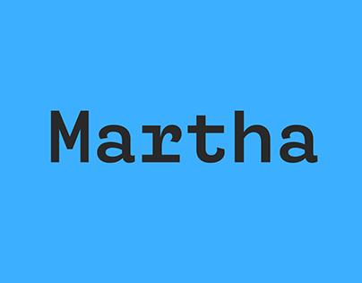 Martha | Retail Typeface