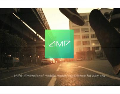 AMP | Brand Identity & UI/UX Design