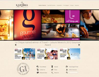 Web Banners: Gourmet Awards and Magellan Awards