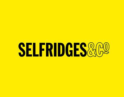 Window Display // Visual Merchandising // Selfridges