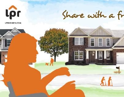 LPR Homes Identity, Website, Signage, Print
