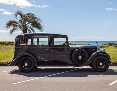 1935 Rolls Royce - UNO Magazine