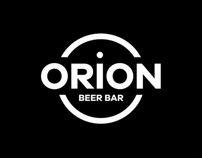 Diseño Logotipo. Orion Beer Bar