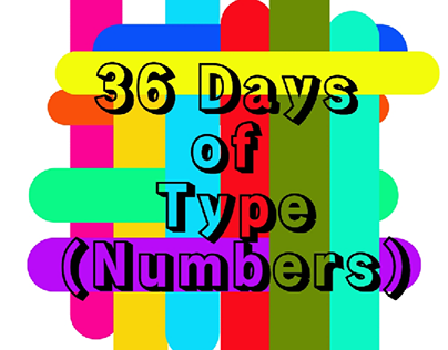 36days of type (Numbers)