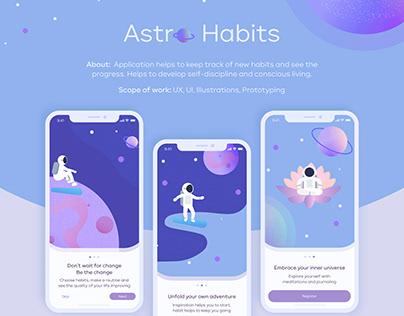 Astro Habits App
