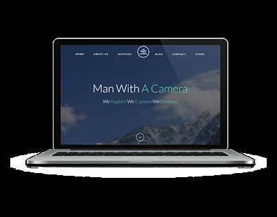 Photographer Website using Wordpress