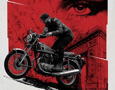 The Wild Escape - 70s inspired poster for Motogolan