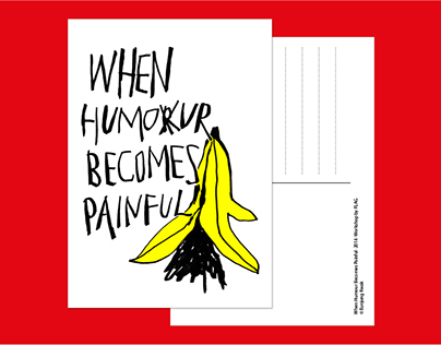 When humour becomes painful
