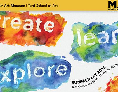 Montclair Art Museum - SummerArt Brochure