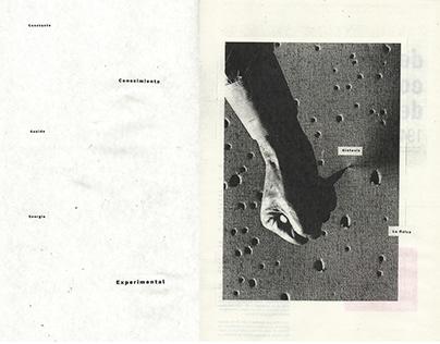 Manifiesto Blanco - Lucio Fontana - fanzine