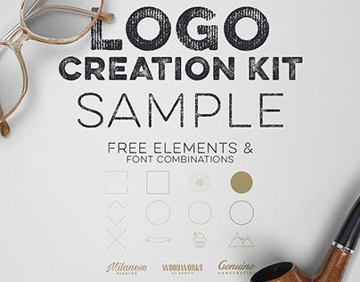 Free Logo Creation Kit Sample