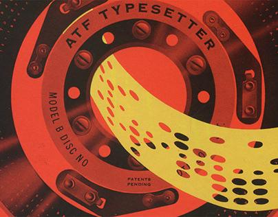 ATF Typesetter Model B