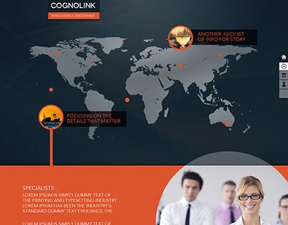 Cognolink - Proposed Web Design