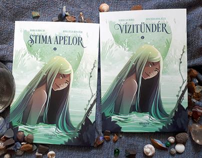 ȘTIMA APELOR / VÍZITÜNDÉR - comic novel