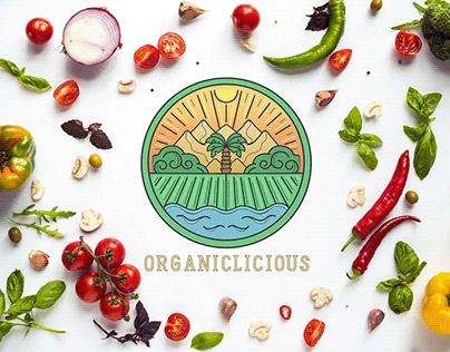 Organic Restaurant - Social media design