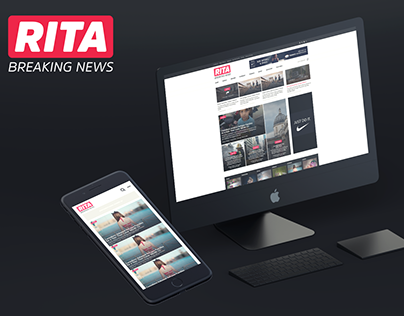 RITA Premium Magazine Theme (FREE PSD)