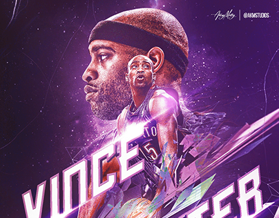 """NBA """"Fractured"""" Poster Series"""