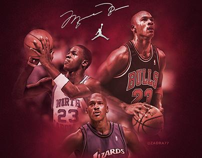Michael Jordan - 55 years in the air