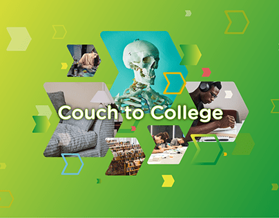 Couch to College website design