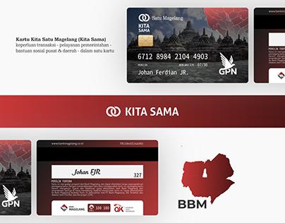 Kartu Kita Sama - An Identity Card with Many Functions
