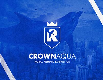Crown Aqua | Logo Identity