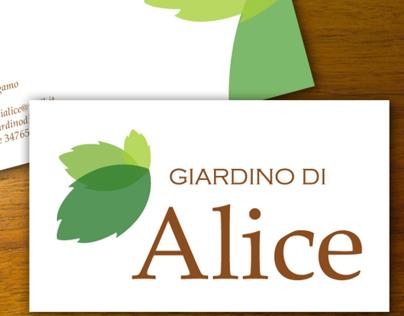 Alice's Garden brand identity