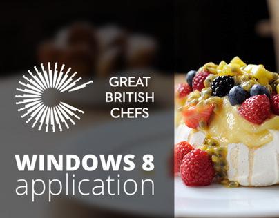 Great British Chefs - Windows 8 app