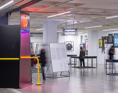 Designing the Night   Exhibition Design