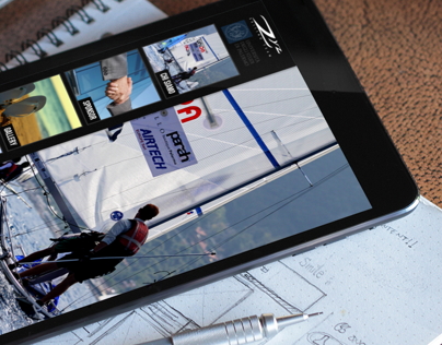 Zyz Website on iPad