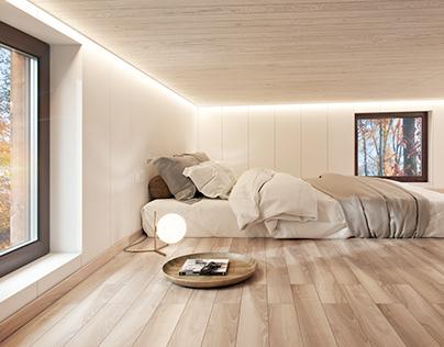 Swedish temporary house\2. Interior design