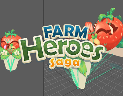 Farm Heroes Saga Animation - King
