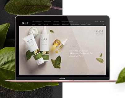 OPI, promotional website.