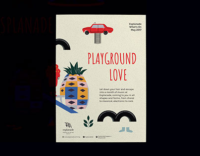 Esplanade What's On May'17: Playground Love
