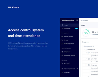 TARGControl Cloud - Admin Dashboard