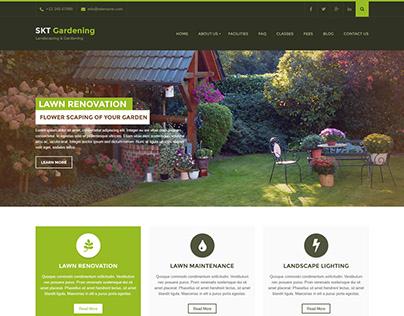 Free Landscaping WordPress Theme