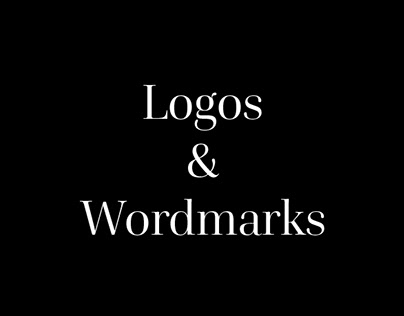Various logos and wordmarks collection