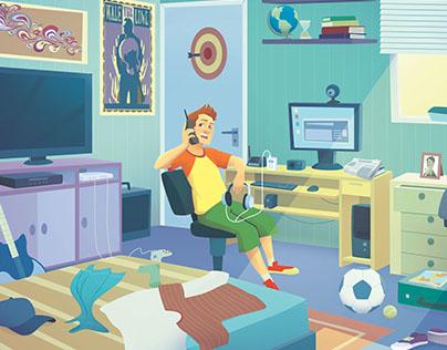 Ilustrações Didáticas FTD