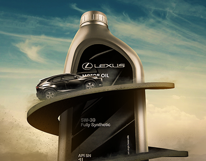 Lexus motor oil campaign