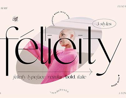 Félicity Typeface