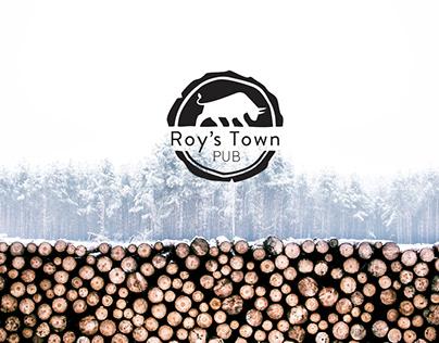Roy's Town Pub Rebrand