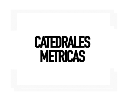 "COVER_ART ""CATEDRALES MÉTRICAS"" single"