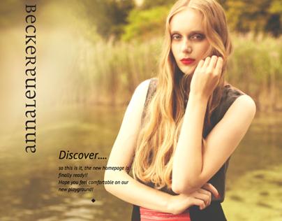 Website Annalena Becker