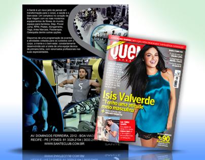 Revista Quem Acontece | Academia Santé