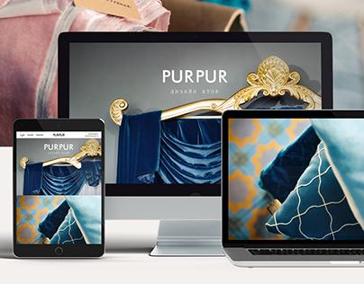 PurPur Website Design