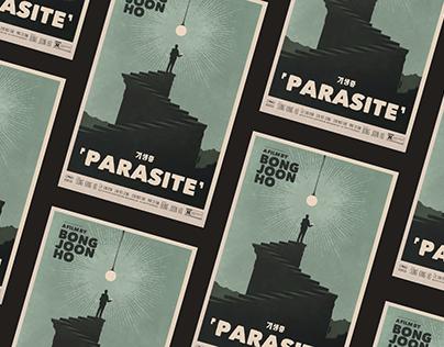 Parasite - Retro Film Poster