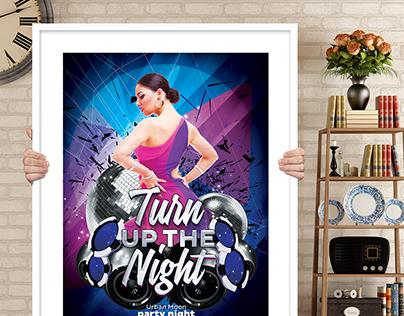 DJ Voose Night Poster