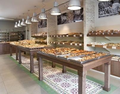 עיצוב פנים מאפייה וקפה בירושלים Cafe Interior Design