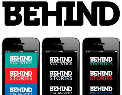 Behind - news app