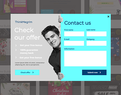 Sign Up OR Lead Collect Form By Elementor & Mailchimp